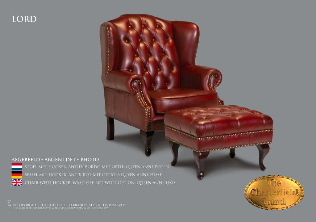 Chesterfield Showroom heeft nu NAAST  haar eigen merk, The Chesterfield Brand en een absolute top co